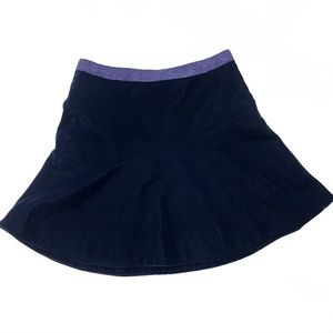 Crewcuts Purple Velvet Skirt Girl 10